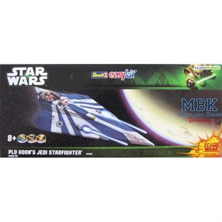 """Plo Koon's Jedi Starfighter """"Easy Kit"""" 1:39"""