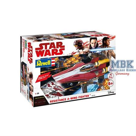Star Wars: Build & Play Resistance A-Wing Fighter