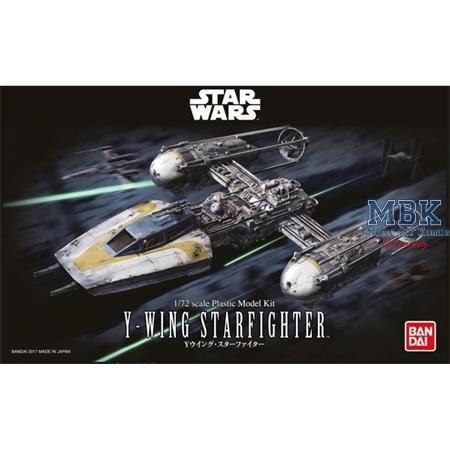 Star Wars: BANDAI  Y-wing Starfighter