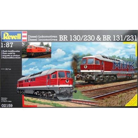 """BR 130/230 & BR 131/231 """"Ludmilla""""  Doppelpack"""
