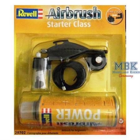 """Airbrush Spritzpistole \""""starter class\"""" + Drucklu"""