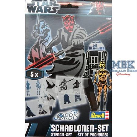 """Orbis Schablonen-Set """"Star Wars III"""""""