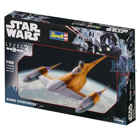 Naboo Starfighter Star Wars (1:109)
