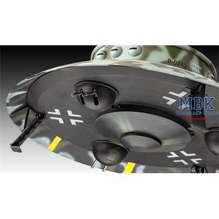 Flying Saucer Haunebu II (Reichsflugscheibe)