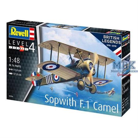 British Legends: Sopwith F.1 Camel