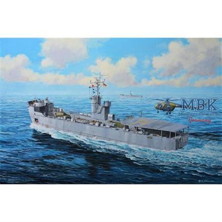 EIDECHSE - German LSM CLASS Landungsschiff