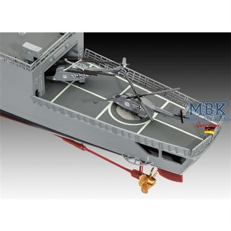 German Frigate Class F122 (Fregatte)