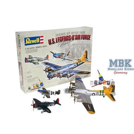 Geschenk-Set U.S. LEGENDS: 8th AIR FORCE