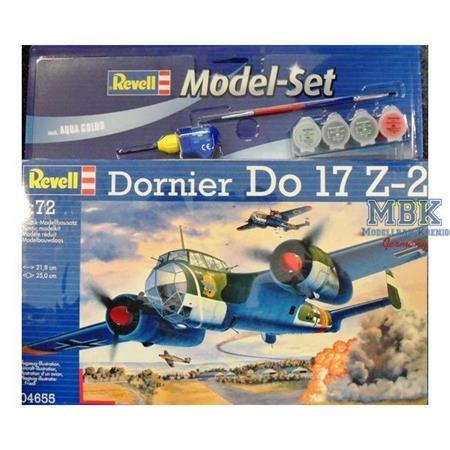 Dornier Do-17 Z-2 Modell Set