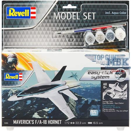 "F/A-18 Hornet ""Top Gun: Maverick'"" easy-click"