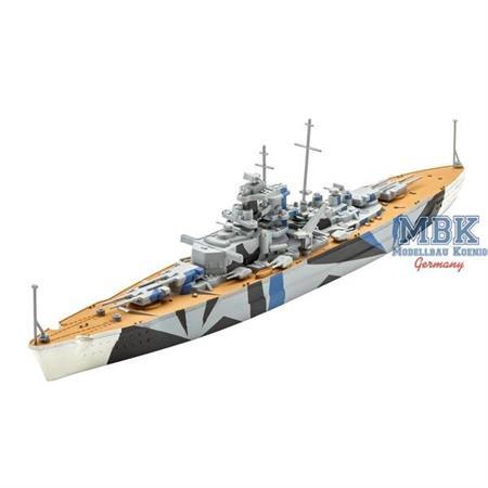 Tirpitz Model Set 1:1200