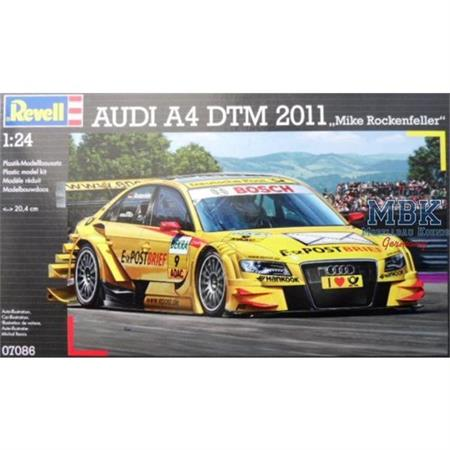 "Audi A4 DTM 2011 ""M. Rockenfeller"""