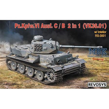 Panzer VI Ausf.C/B (VK36.01)