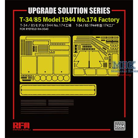 T-34/85 Model 1944  - upgrade solution
