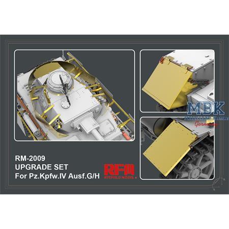Upgrade set for 5046 5053  & 5055 Pz.IV Ausf.G/ H