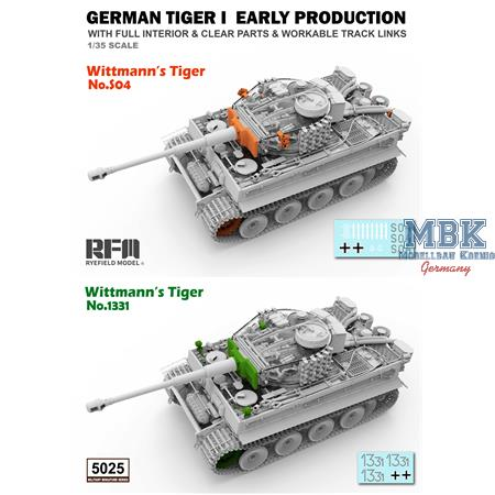 Tiger I Witmann full interior - Clear Edition