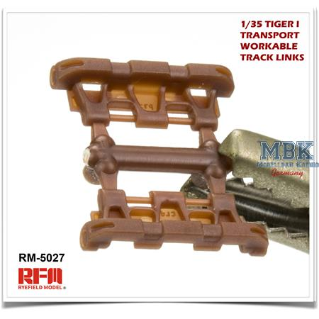 Tiger I Transport workable Track links