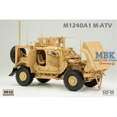 U.S MRAP All Terrain Vehicle M1240A1 M-ATV