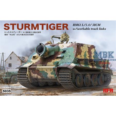 Sturmtiger with workable tracks