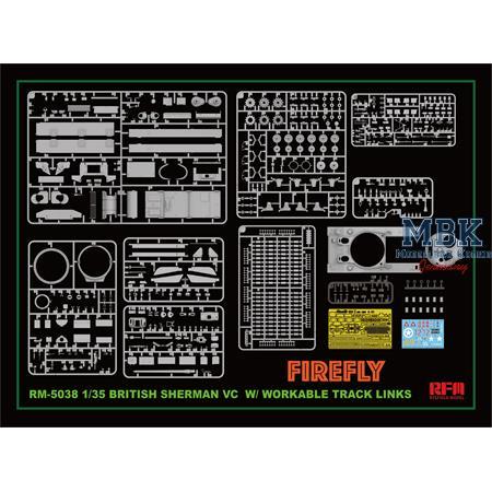 Britisch Sherman VC Firefly