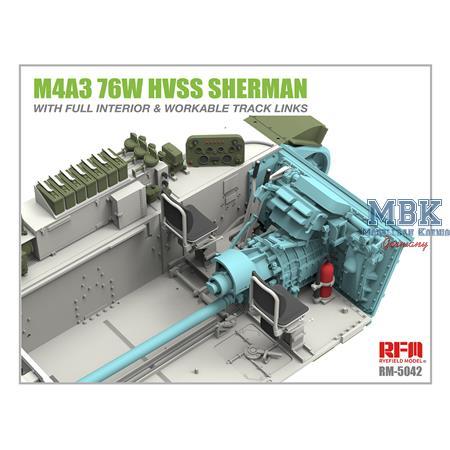 M4A3 76W HVSS Sherman w/full interior