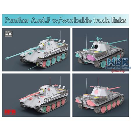 Sd.Kfz.171 Panther Ausf. F w/ workable track links