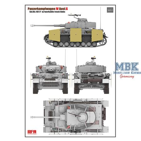Panzer IV Ausf.G w/ workable track links