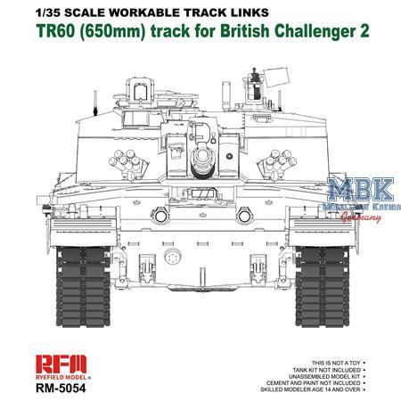 Challenger 2 TR60  workable tracks