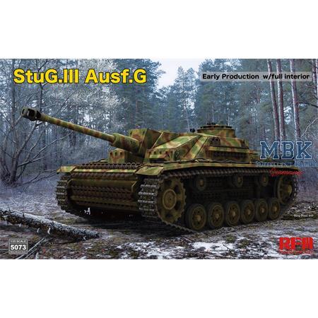StuG III Ausf. G early full Interior