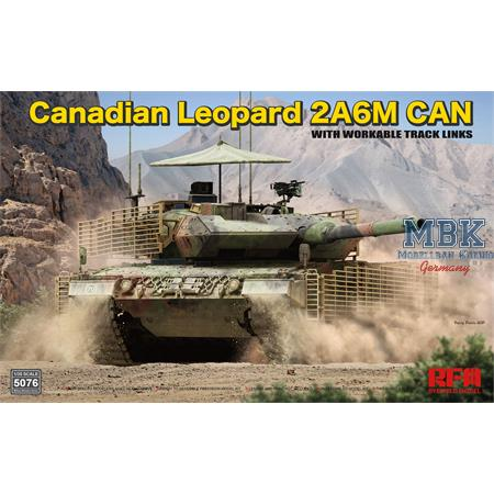 Canadian Leopard 2A6M CAN w/workable track links