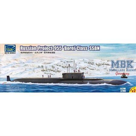 "Russian Project 955 ""Borei"" class SSBN 2in1"
