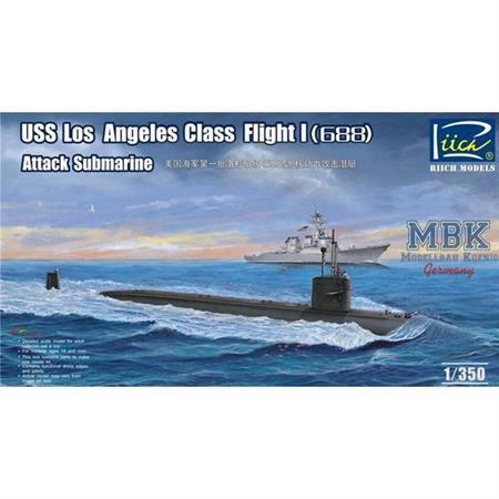 USS Los Angeles Class Flight I (688)