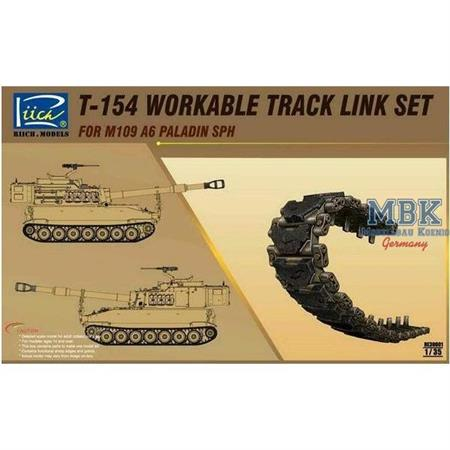 T-154 workable Track for M109A6 Paladin