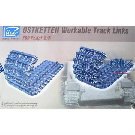 """Ostkette"" workable track-links Pz.Kpf. III/IV"