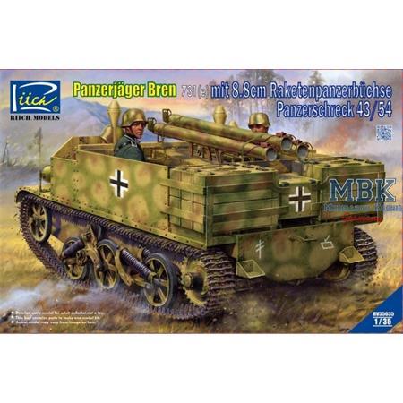 Panzerjäger Bren 731(e) mit 8.8cm Panzerschreck