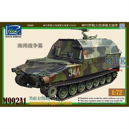 M992A1 Field Artillery Ammunition Support Vehicle