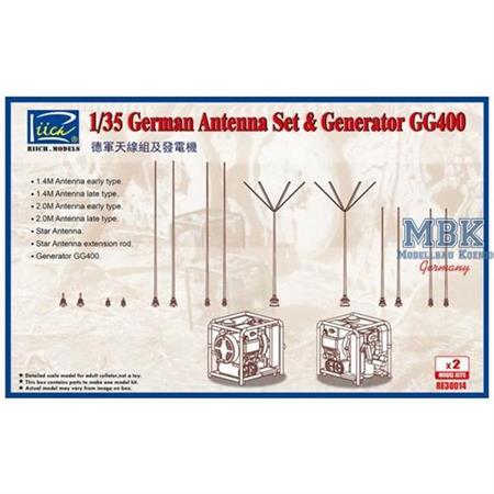 German Antenna Set & Generator GG400
