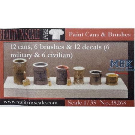 Paint Cans - Farbdosen