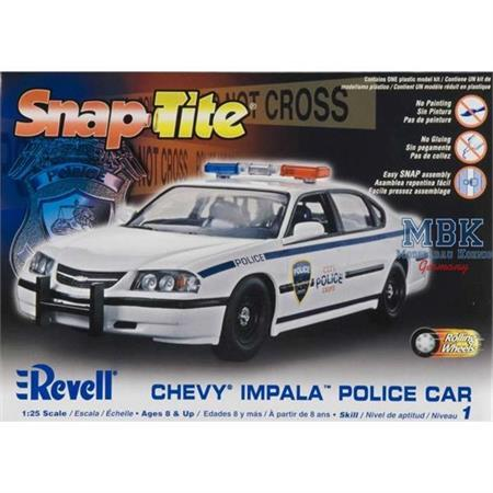2005 Chevy Impala Police Car Snap (Polizeiwagen)