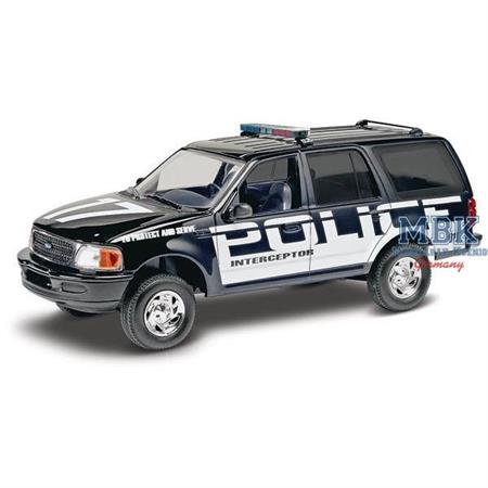Ford Police Expedition Car Snap-Kit (Polizeiwagen)