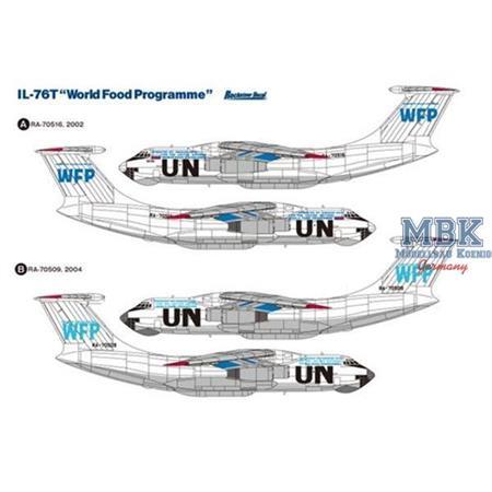 "Ilyushin IL-76T ""World Food Programme"""