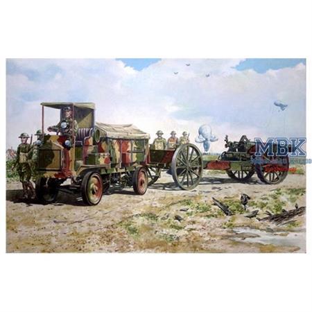 FWD Model B 3 ton & BL 8-inch howitzer