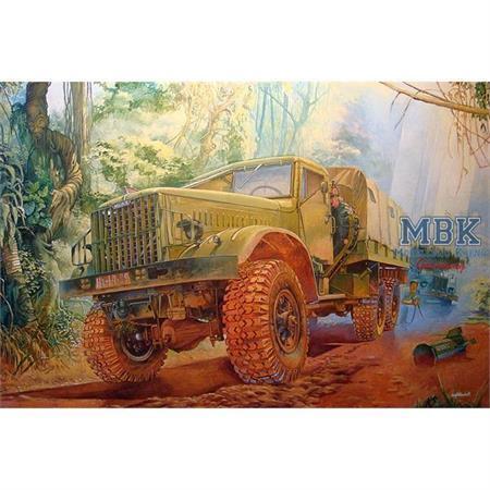Russian Truck KrAZ 214 B