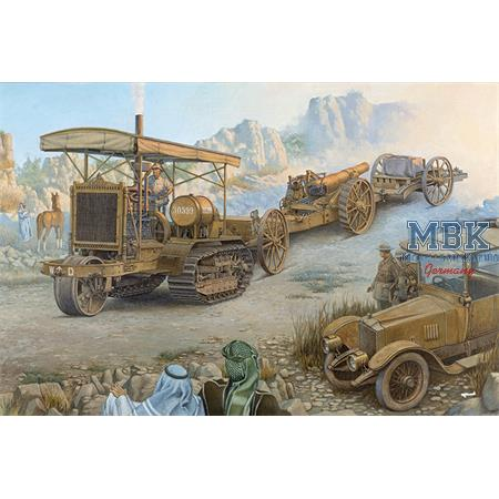 Holt 75 Artillery Tractor & BL 8-inch Howitzer
