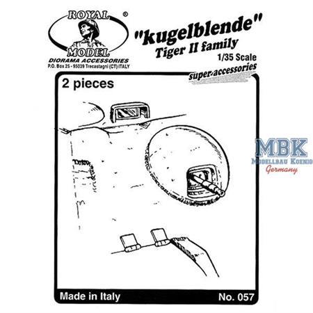 Tiger II Kugelblende