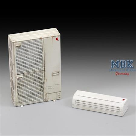 Double Air Conditioning unit