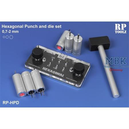 Hexagonal Punch and die