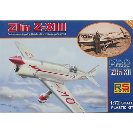 Zlin Z-XIII + Zlin XII