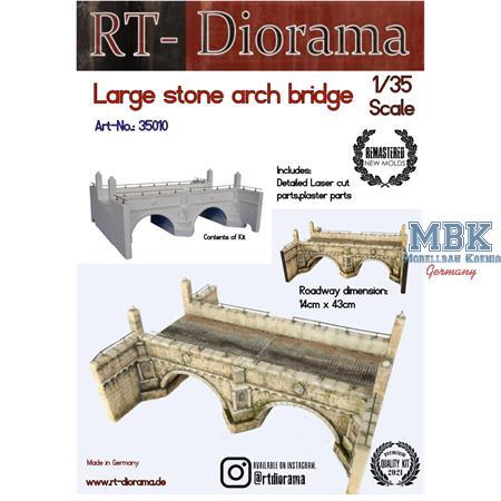 Large Stone arch bridge