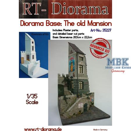 "Diorama-Base: ""The old mansion"""